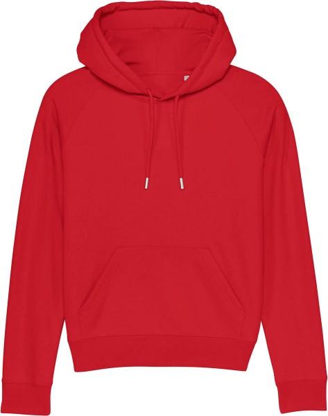 Raglan-Hoodie aus Bio-Baumwolle - red