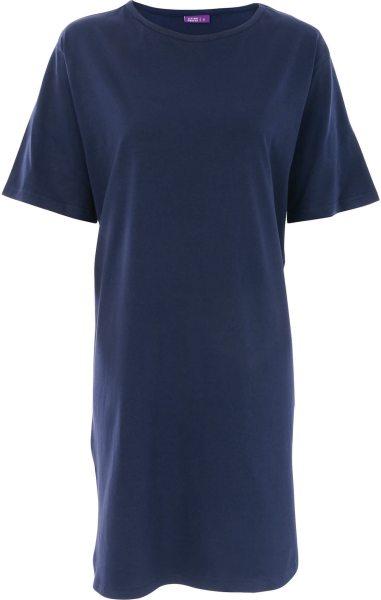Nachthemd aus Bio-Baumwolle - navy