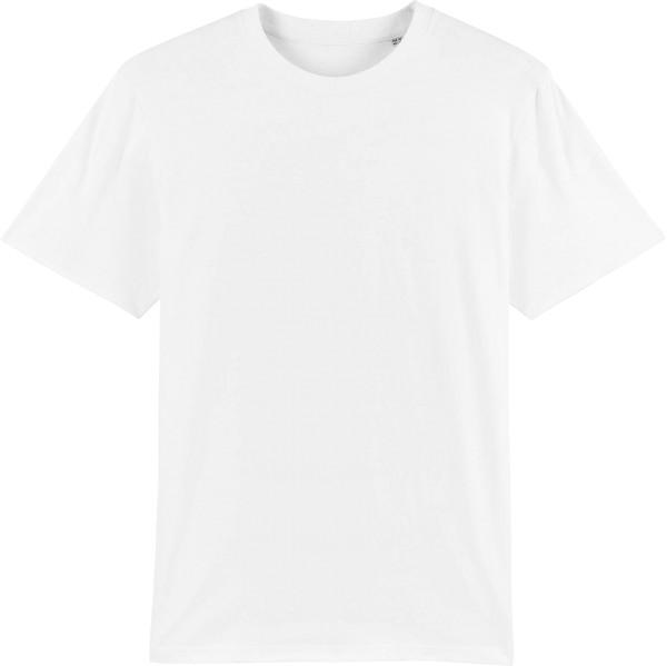 T-Shirt aus schwerem Stoff aus Bio-Baumwolle - white