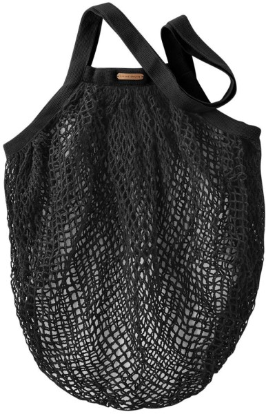 Große Netztasche aus Bio-Baumwolle - 50x40cm - black