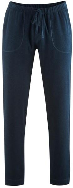 Frottee-Hose  aus Bio-Baumwolle - dark navy - Bild 1
