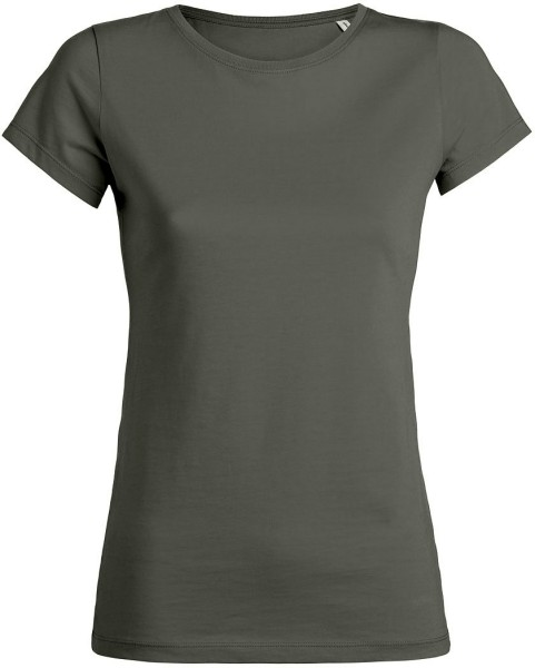 Wants - T-Shirt aus Bio-Baumwolle - khaki
