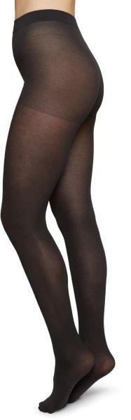 Stina Premium Tights - Strumpfhose aus Bio-Baumwolle - charcoal