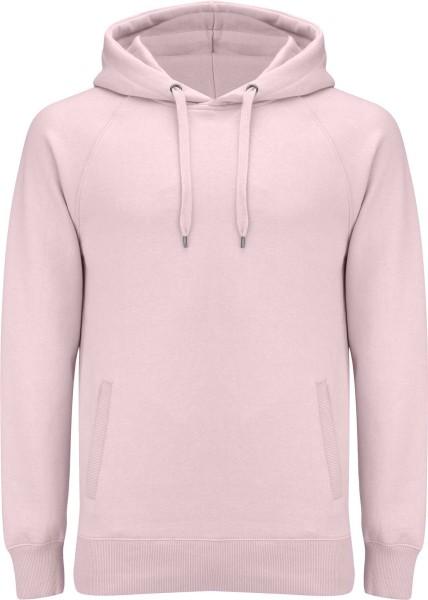 Unisex Pullover Hoodie mit Seitentaschen - candy pink