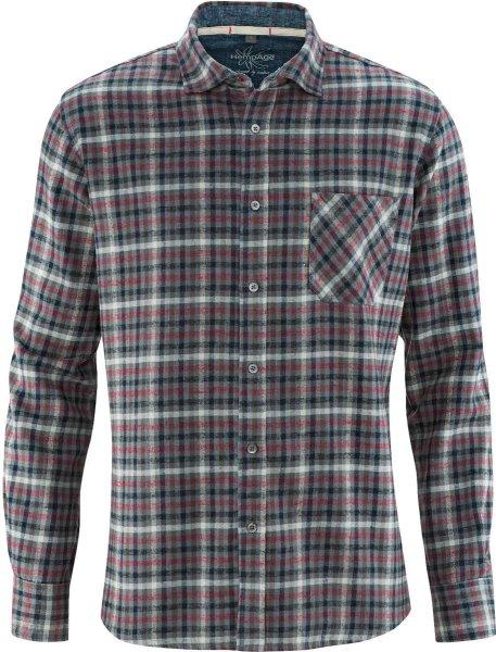 Holzfäller-Hemd aus Hanf und Bio-Baumwolle - rioja
