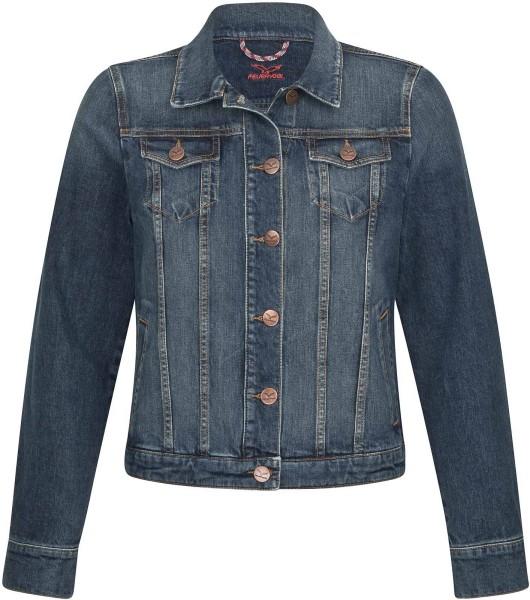 Svala - Jeansjacke aus Bio-Baumwolle - basic blue