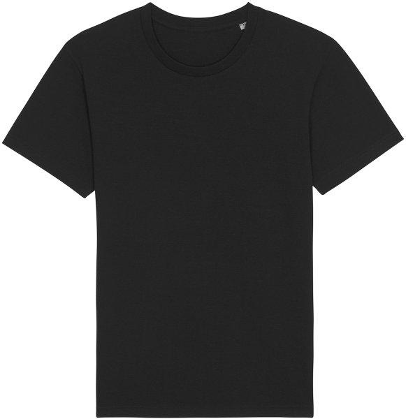 Basic T-Shirt aus Bio-Baumwolle - black