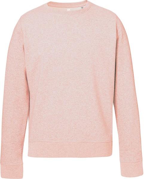 Sweatshirt aus Bio Baumwolle cream heather pink