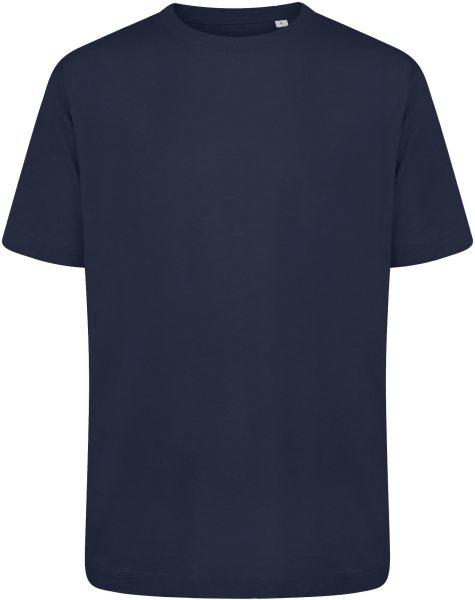 Organic Heavy Oversized T-Shirt - navy blue