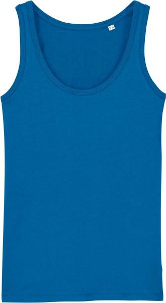Tank-Top aus Bio-Baumwolle - royal blue