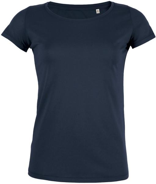 Loves - Jerseyshirt aus Bio-Baumwolle - navy
