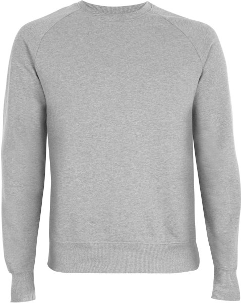 Raglan-Sweatshirt Herren light heather
