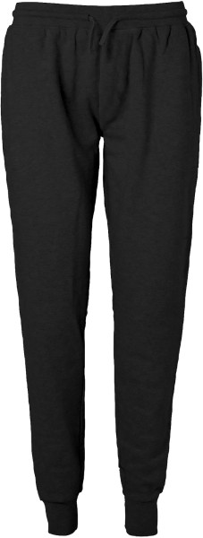 Jogginghose aus Bio-Baumwolle Fairtrade - schwarz
