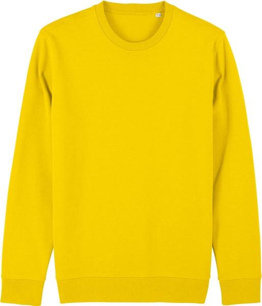 Unisex Sweatshirt aus Bio-Baumwolle - golden yellow
