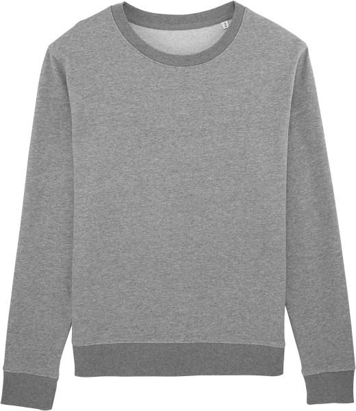 Sweater aus Biobaumwolle - mid heather grey