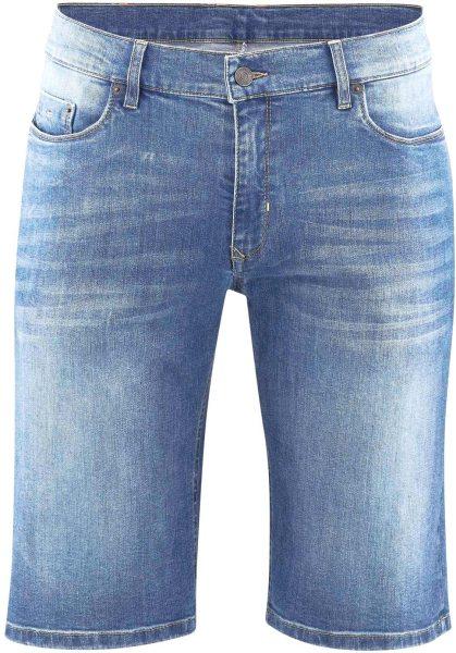 Jeans-Shorts aus Bio-Baumwolle - mid indigo