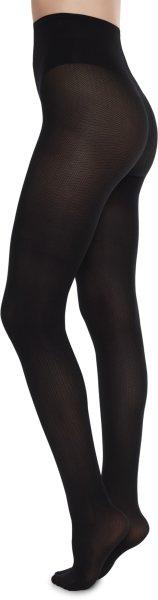 Nina Fishbone Tights - Strumpfhose aus Nilit - black