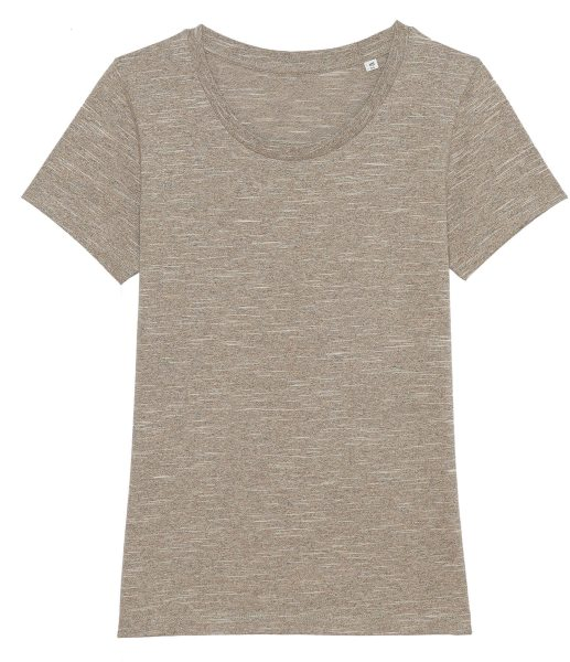 T-Shirt aus Bio-Baumwolle - wooden heather