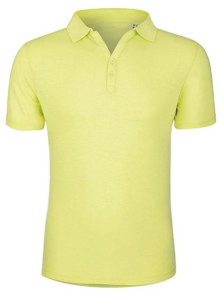 Trains Modal Slub - Poloshirt aus Modalfasern - sunny lime - Bild 1