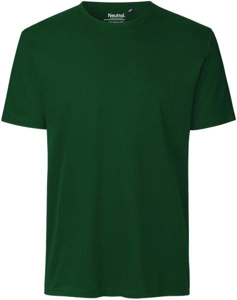 Rib T-Shirt aus Fairtrade Bio-Baumwolle - bottle green