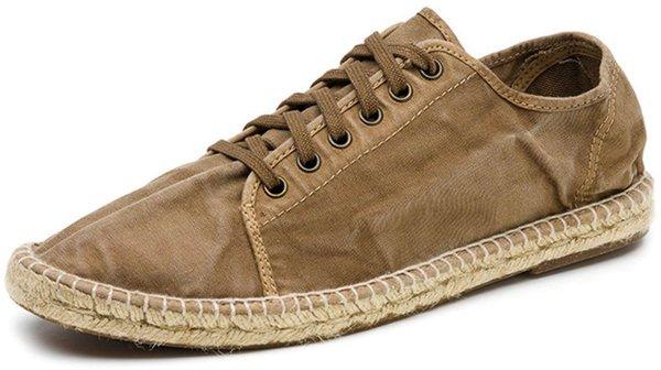 Basket Yute Enzimatico - Schnürschuhe aus Bio-Baumwolle - beige - Bild 1
