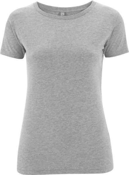 Slim-Fit Jersey T-Shirt grau meliert - Bild 1