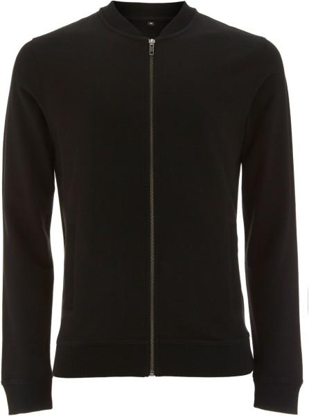 Bomber Jacket schwarz Baumwolle N60