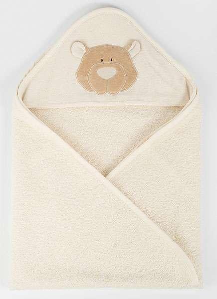 Biobaumwoll Handtuch Für Babies Mit Teddy Kapuze Grundstoffnet