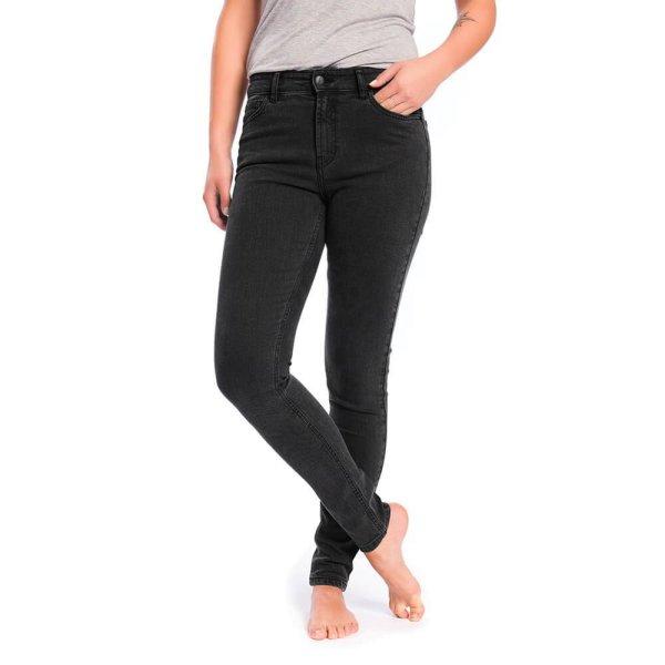 Slim Fit Jeans aus Bio-Baumwolle & Tencel - black washed