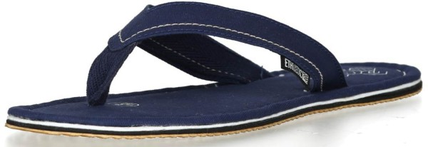 Fairtrade Flipflops in ocean blue - Ethletic