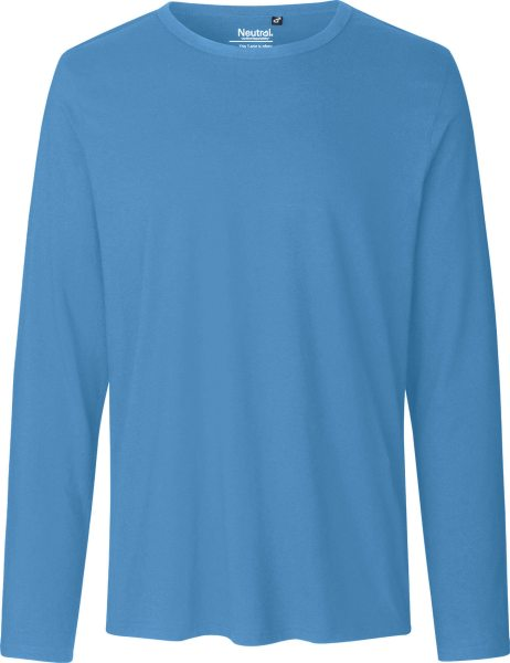 Longsleeve aus Fairtrade Bio-Baumwolle - dusty indigo
