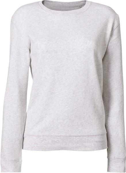Leichter Sweater aus Biobaumwolle - heather ash