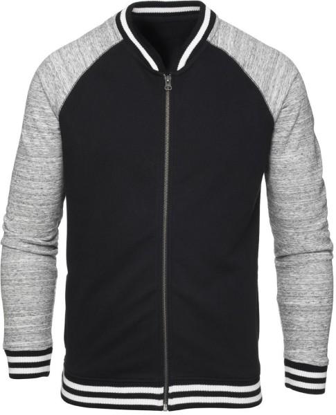Study - College Jacke aus Bio-Baumwolle - schwarz