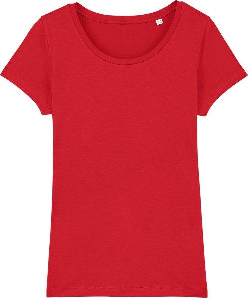 Jersey-Shirt aus Bio-Baumwolle - red