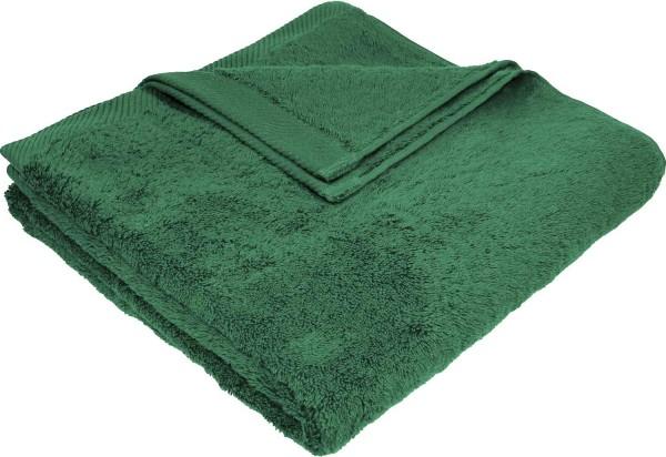 Flauschiges Badetuch aus Bio-Baumwolle - 70x140 forest green