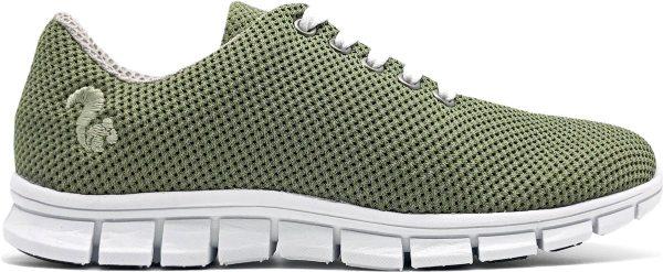 Mesh Sneaker aus recyceltem Mais - khaki
