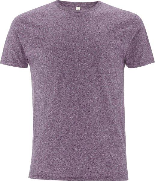 Special Yarn Effect T-Shirt wine twist EP15