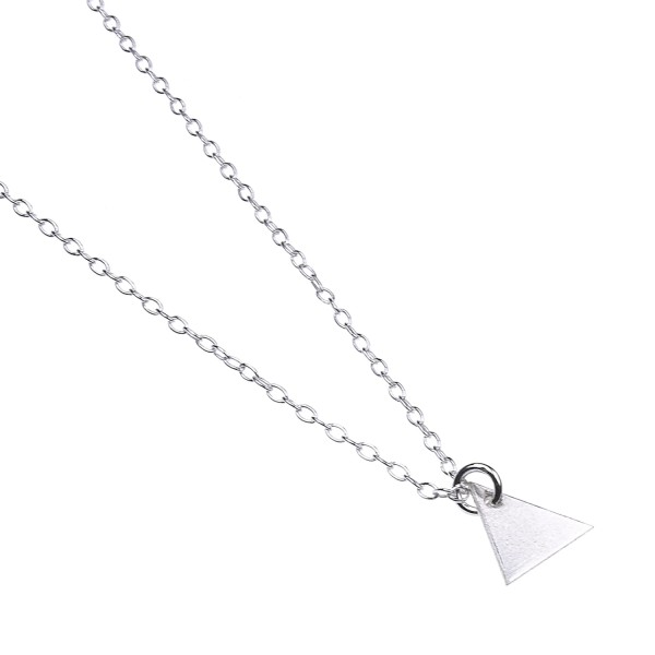 Triangle Necklace – Kette aus recyceltem Silber