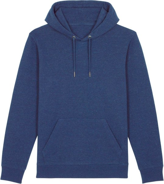 Unisex Hoodie aus Bio-Baumwolle - heather snow mid blue