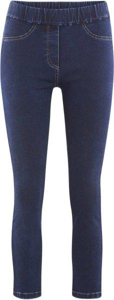 7/8-Treggings aus Bio-Baumwolle - indigo blue