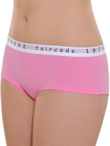 Hot-Pants aus Fairtrade Biobaumwolle - pink - Bild 1
