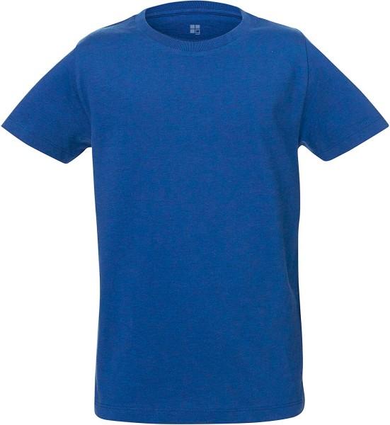 Kinder T-Shirt Bio-Baumwolle - mid heather royal blue