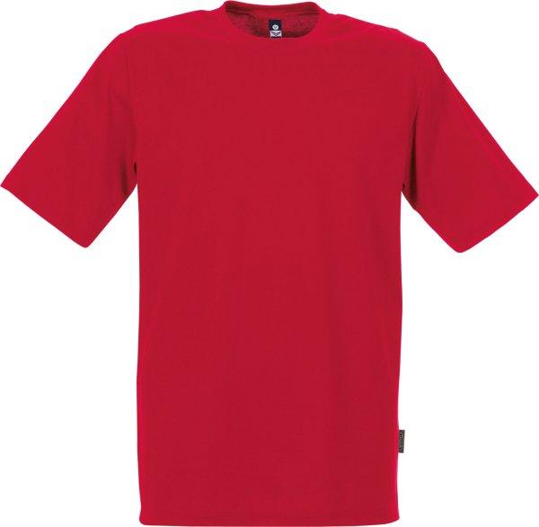 Klassisches T-Shirt aus Baumwolle - kirsch
