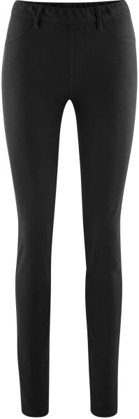Treggings schwarz Bio-Baumwolle Living Crafts