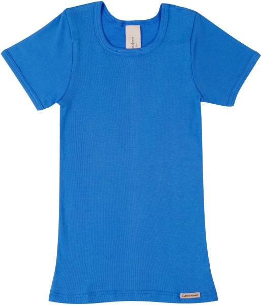 Kinder Shirt aus Fairtrade Biobaumwolle - see - Bild 1