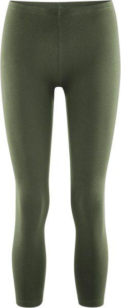7/8 Leggings olive aus Bio-Baumwolle - Living Crafts