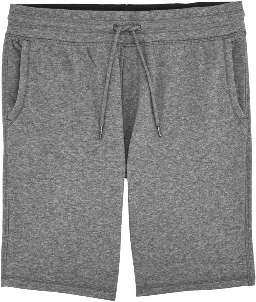 Joggingshorts Bio-Baumwolle - mid heather grey