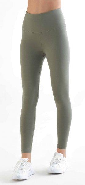 Active 7/8 Leggings aus Bio-Baumwolle & Elastan - light green