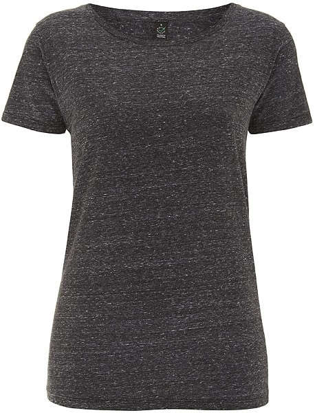 Special Yarn Effect T-Shirt - Biobaumwolle - black twist - Bild 1