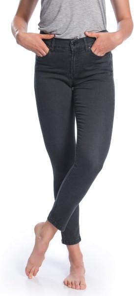 Light Jeans aus Bio-Baumwolle – grau